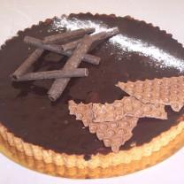 Tarte aux chocolat