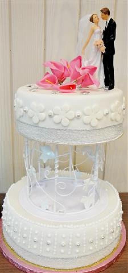 Wedding cake à étage Mariage