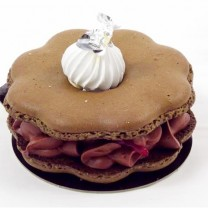 Macarons chocolat/framboises