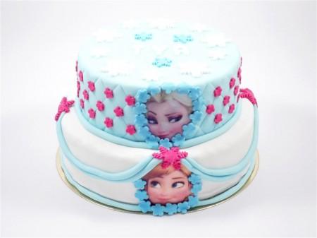 Wedding cake La Reine des Neiges