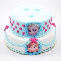 Wedding cake La Reine des Neiges