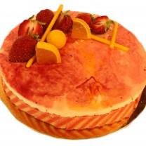 Mousse fraises citron
