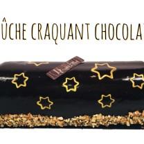 1 BUCHE CRAQUANT CHOCOLAT