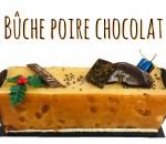 4 BUCHE POIRE CHOCOLAT