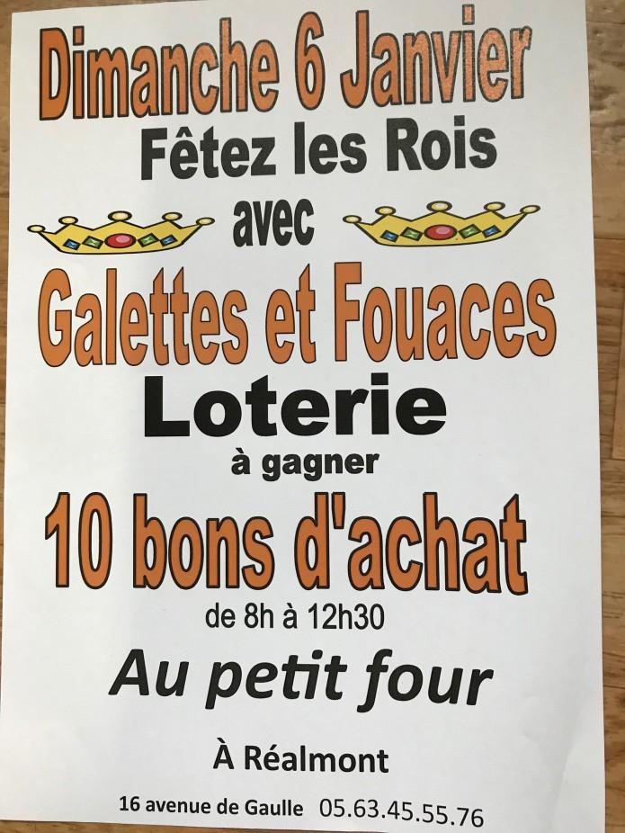 loterie des Rois Réalmont , Albi , Castres