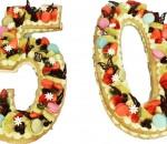 b number cake
