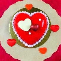 a    votre St Valentin  fraise/vanille