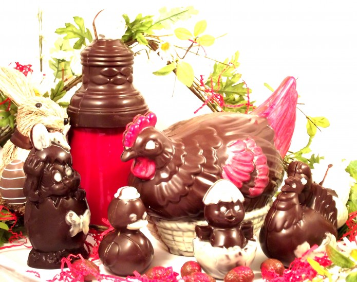 NOS CHOCOLATS DE PAQUES
